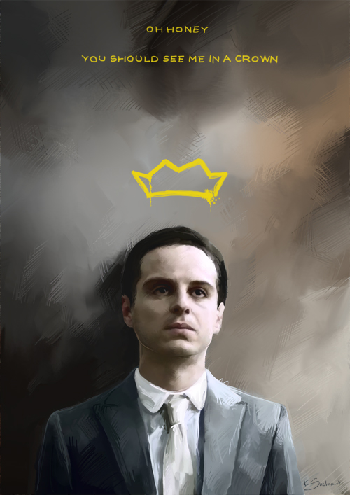 Oh Honey, You Should See Me In a Crown,Crown, honey, Honey You Should See Me In A Crown, Sherlock, Sherlock Holmes, sherlock holmes bbc quotes, Sherlock Holmes movie, Sherlock Holmes Quote, Sherlock Holmes tv show, tv show, jim moriarty,jim, moriarty,Andrew Scott,Andrew ,Scott,Andrew Scott as Jim Moriarty