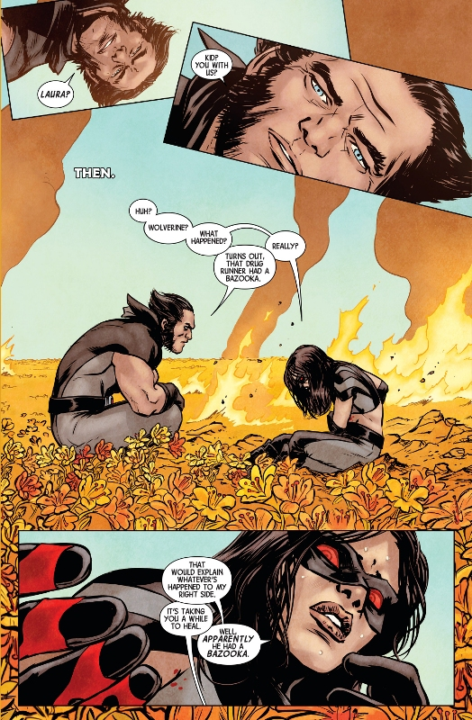 Wolverines Most Important Lesson To X23,Wolverines, Most Important Lesson To X23,Wolverine,Important,Wolverines X23,MArvel Comics,Comic,Logan