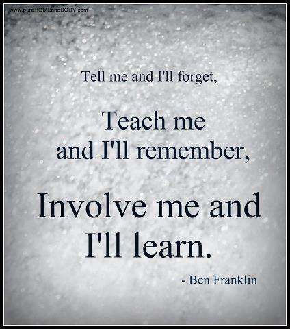 Teach Me And I will Remember