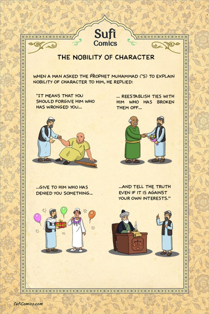 Islam,islamic teaching,muslims,muslim,Allah,Only Allah,islamic teachings,islam teachs,nobility-of-character-sufi-comics,sufi comics,nobility of character,comic,comis,