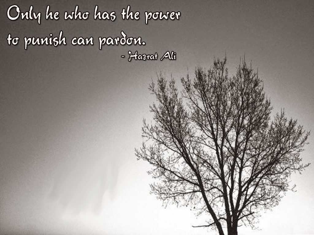 Only He Who Has The Power To Punish Can Pardon, Islamic Quote, islamic Quote Saying, islamic Quotes, islamic Quotes Sayings, islamic Saying, islamic Sayings,islamic Quotes Sayings,islamic quote,Saying.jpg, sayings,Islamic Teachings,Islamic Teaching
