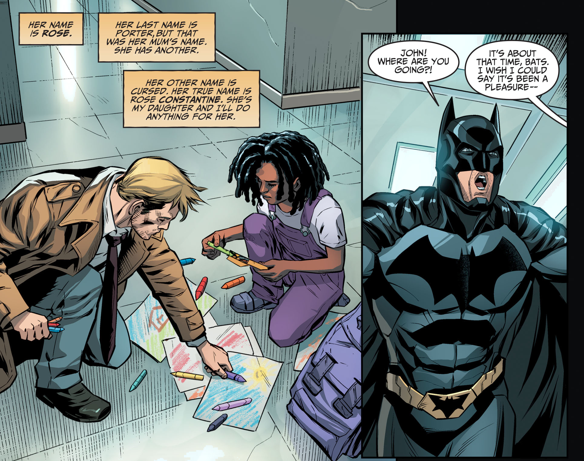 batman and john constantine, batman and john constantine comic, batman john constantine comic, constantine, hates john constantine, john constantine, john constantine comic, Justice League, Justice League constantine, Justice League Dark, Justice League john constantine,
