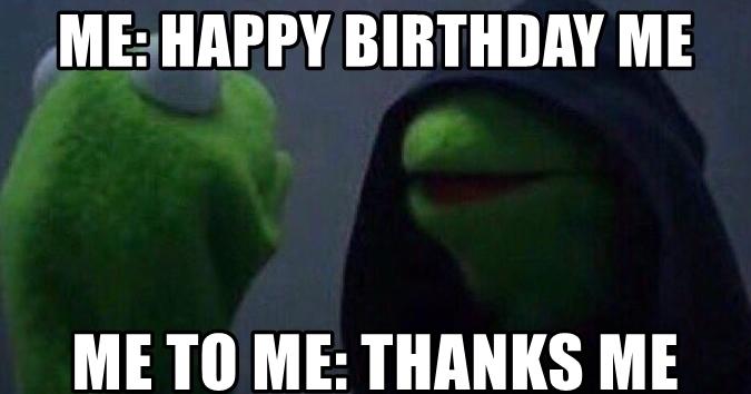 Wishing Happy Birthday To Me,Wishing Happy Birthday To Myself