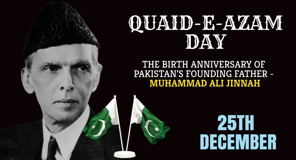 Quaid-e-Azam Day,Pakistan
