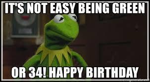 Happy Birthday To Me Now I am 34