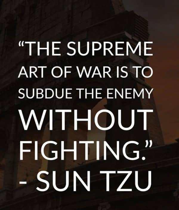 The Supreme Art Of War By Sun Tzu
